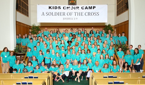 Kids Choir Camp - A Soldier of the Cross